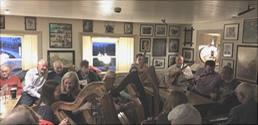 Traditional Irish Music Sessions, River Shannon   Larkins Bar & Restaurant