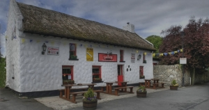 Larkins Bar & Restaurant, Garrykennedy on the shores of Lough Derg on the Shannon