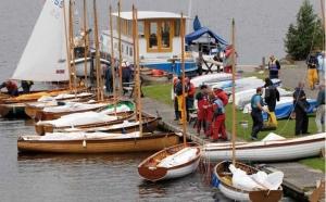 Sailing on Lough Derg