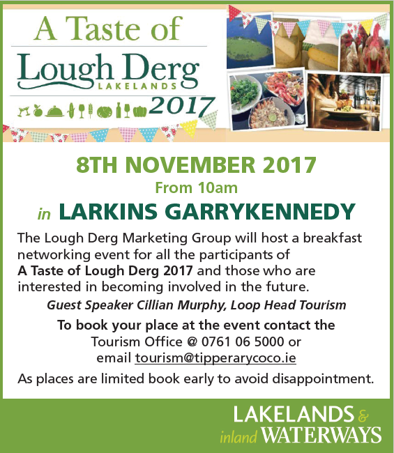 Taste of Lough Derg at larkins Bar & Restaurant