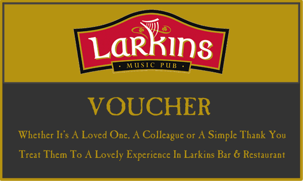 Larkins Bar & Restaurant Gift Voucher